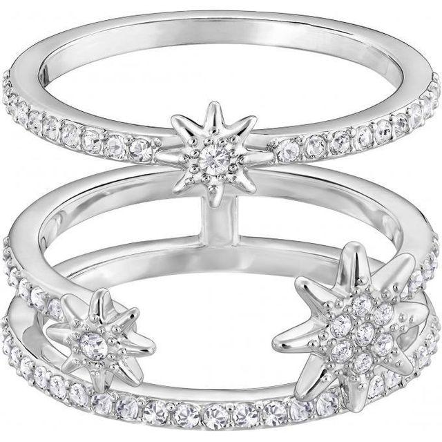 Swarovski Bijoux - Promo Bague Swarovski Classic Jewelry Fizzy-cry-rhs -  Bague Ouverte 116e6c2a2cb8