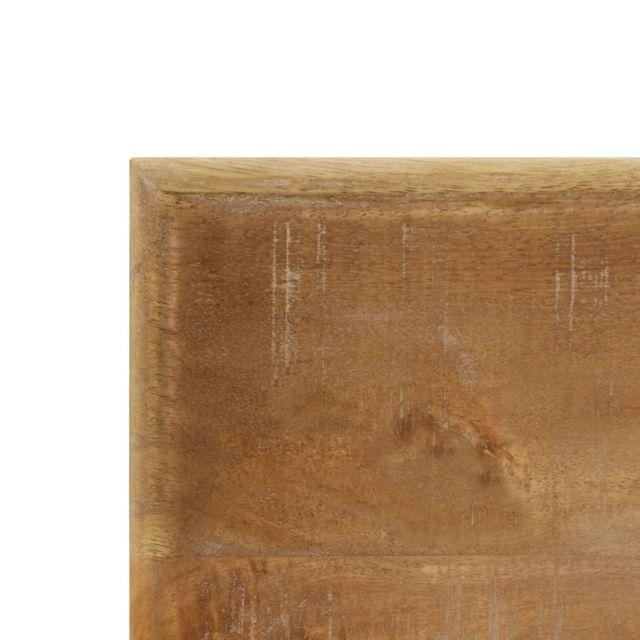 Icaverne - Tables de salle à manger & de cuisine selection Table de salle à manger 120x60x76 cm Bois solide de manguier