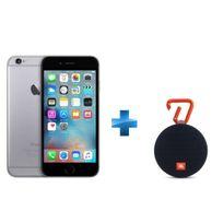 iPhone 6 - 16 Go - Gris Sidéral + Enceinte nomade Clip 2