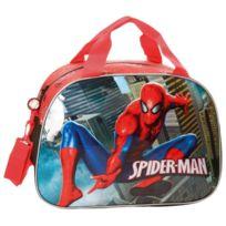 Spiderman Homecoming sac de voyage, sport, loisirs, sac bagage a main pour les enfants, Dimensions : 34 cm x 19 cm x 22 cm,