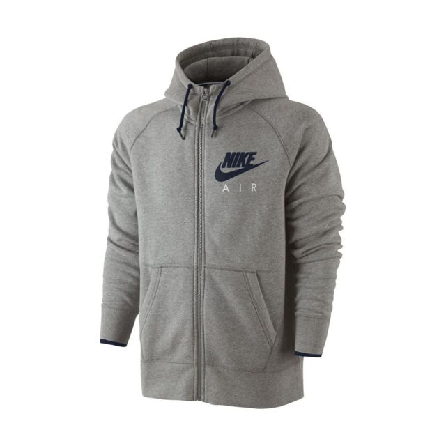 Nike Sweat Air Aw77 Fleece Full Zip 727387 063 pas