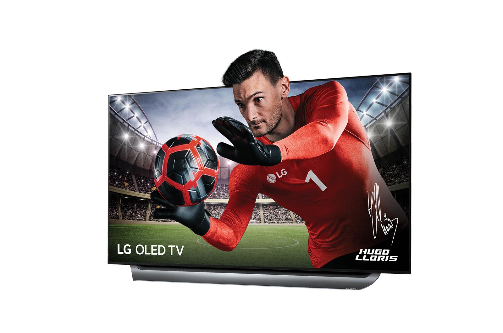 lg tv oled 4k uhd 55 139 cm oled55c8 gris pas cher achat vente tv led de 50 39 39 55. Black Bedroom Furniture Sets. Home Design Ideas