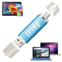 "I Usb U - Cle Usb double 64 Go ""Classe A"" pour smartphone, tablette Android, Pc et Mac, Usb - micro Usb ""OTG"