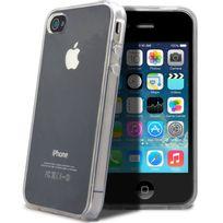 Coquediscount - Coque silicone transparente iPhone 4