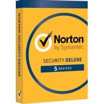 Symantec - Norton Security 2017 Deluxe - 5 Appareils, 1 An