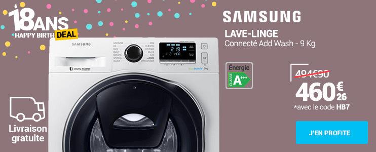 Samsung Lave-linge