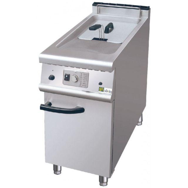 Materiel Chr Pro Friteuse sur Coffre 20 L 15,5 kW - P 700 mm - Afi Collin Lucy - 700