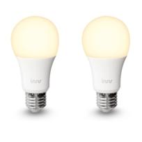 INNR - Pack 2 Ampoules connectée type E27 - Blanc chaud