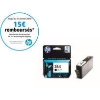 HP - CB316EE - Cartouche d'encre 364 Noir
