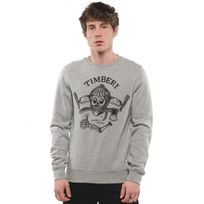 Element - Sweat Timber Cr 1 - Grey Heather