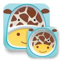 Minymum - Skip Hop Kit Assiette + Bol - Girafe
