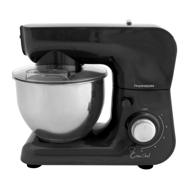 "thomson thfp50794b - robot pâtissier ""crea chef"" - bol inox 5"