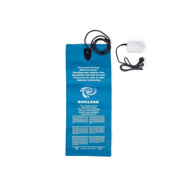 Beliani Chauffage lit à eau - Thermostat - 300 W - Bioclear
