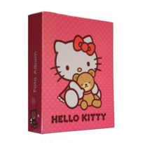 Marque Generique - Album photo Disney Hello Kitty 100 photos enfant à pochette rose