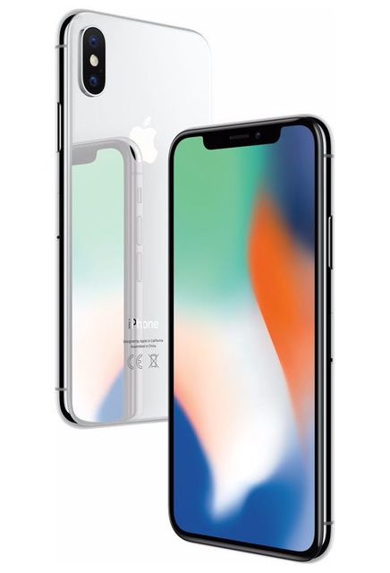 APPLE - iPhone X - 256 Go - MQAG2ZD/A - Argent