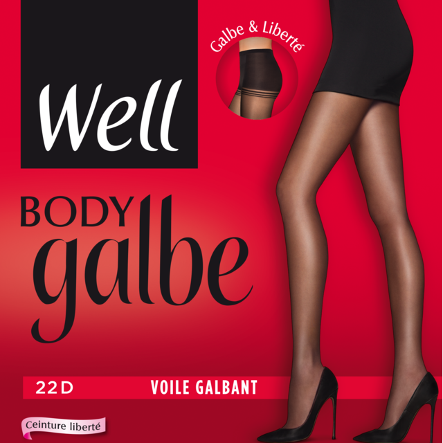 WELL - Collant Body Galbe Voile Galbant - pas cher Achat   Vente Bas ... 102c79f2588