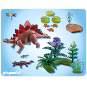 Playmobil 5232 jeu de construction st gosaure et ses for Playmobil dinosaurios
