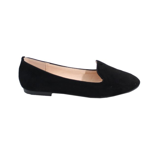 Alistair By Shoes Ballerine Plate Style Suédine Femme