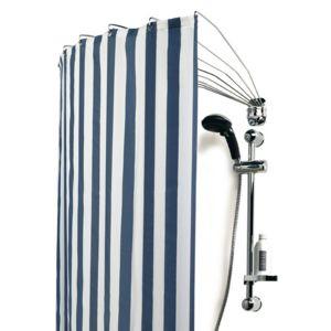 alin a umbrella barre de douche ventail pas cher achat vente accessoires de rideaux. Black Bedroom Furniture Sets. Home Design Ideas