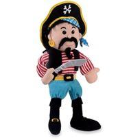 Fiesta - Crafts - T-2786 - Marionnettes À Main - Pirate Avec Rayures