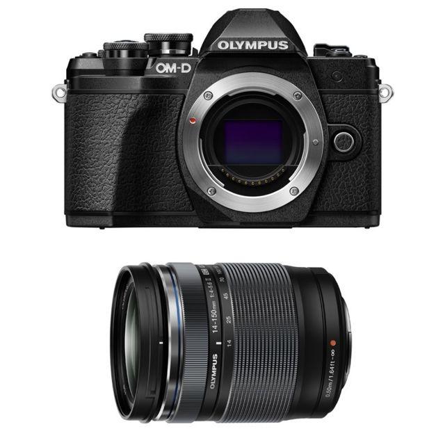 Olympus Compact hybride Om-d E-m10 Iii Noir + M.ZUIKO Digital Ed 14-150mm 1:3.5-5.6 Ii Noir Garantie 3 ans
