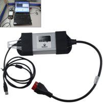 Wewoo - Lecteur de Code Prise outil de diagnostic Renault Can Clip V161 d'interface de multilingue automatique