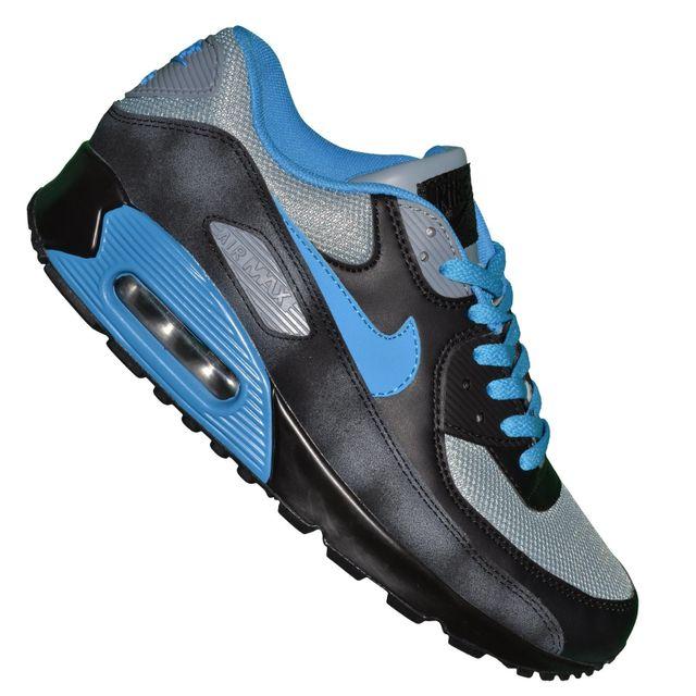 air max 90 cuir bleu