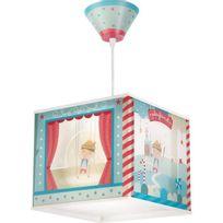 Aucune - Lustre suspension chambre enfant Pinocchio - Bleu