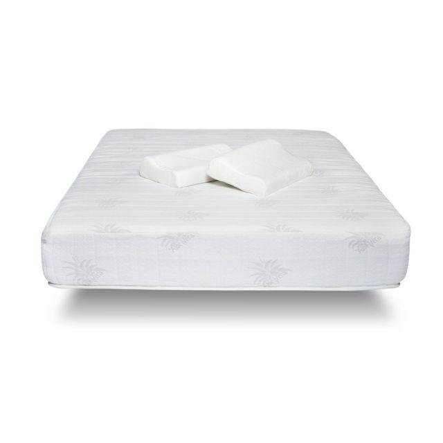 hypnia matelas v g tal 140 x 190 cm achat vente matelas mousse et m moire de forme pas chers. Black Bedroom Furniture Sets. Home Design Ideas
