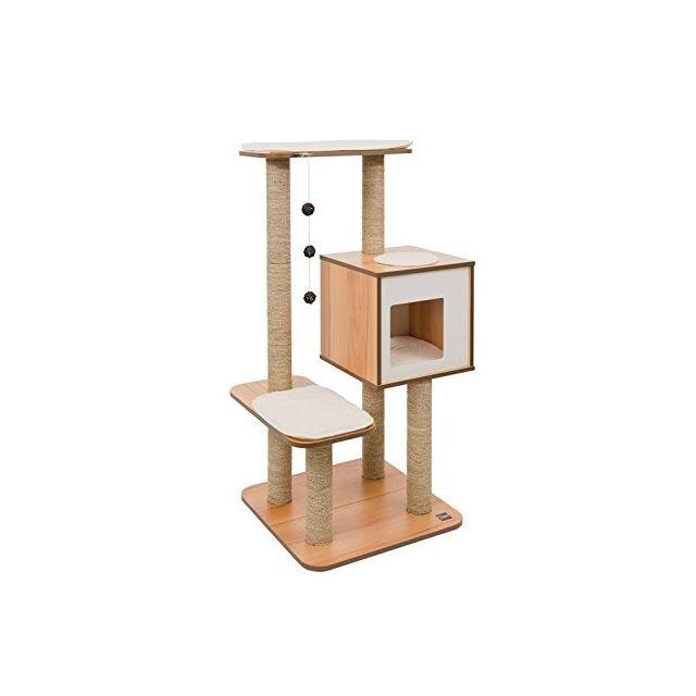 Karlie arbre a chat top tectake arbre chat griffoir - Arbre a chat simple ...
