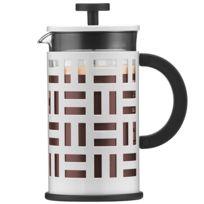 BODUM - EILEEN 'Cafetière à piston, 8 tasses, 1.0 L - Blanc