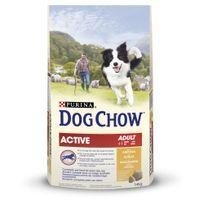 Purina - Dog Chow - Croquettes Active au Poulet pour Chien Adulte - 14Kg