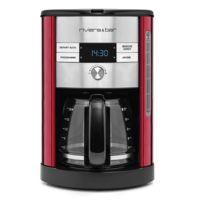 RIVIERA & BAR - cafetière filtre programmable 18 tasses 950w rubis - cf547a