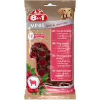 8 In 1 - Friandise Chien, 8IN1 Minis Agneau Cranberry