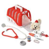 Klein - Set vétérinaire avec chien en peluche