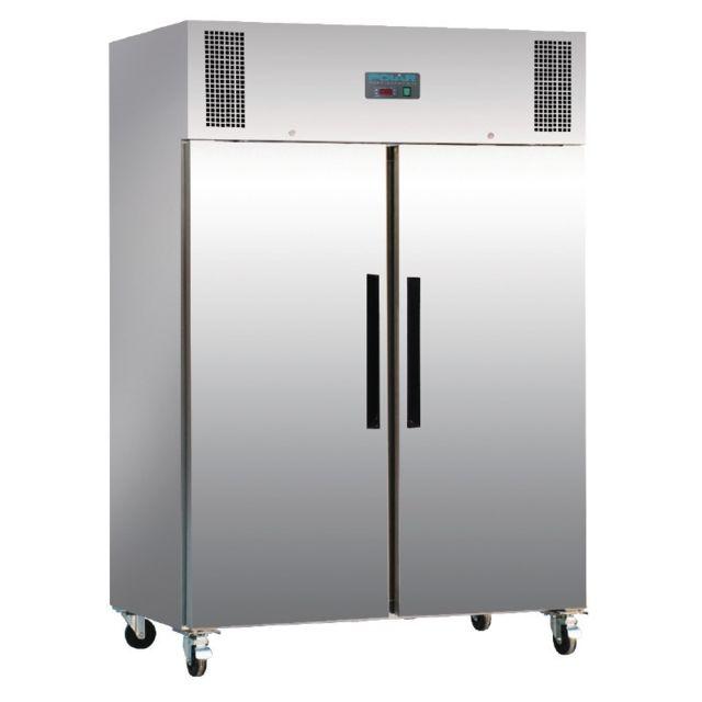 Polar Armoire négative Pro 2 portes inox 1200 litres