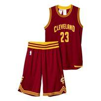 Adidas performance - Cleveland Cavaliers James Bordeaux Ensemble Club Nba Enfant Basketball