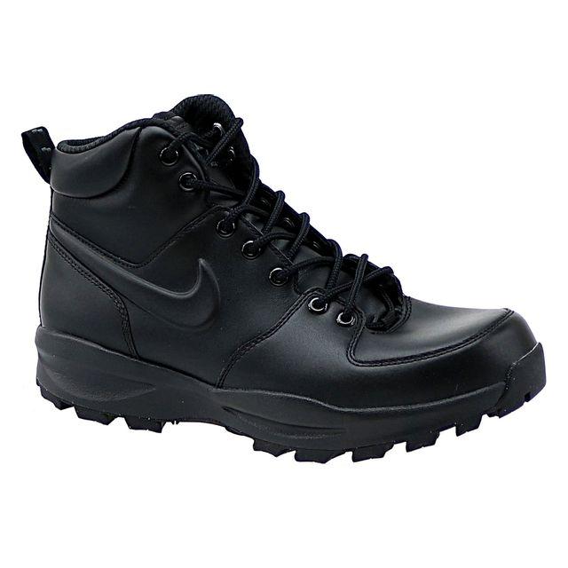 le dernier 952f5 b30b4 Nike - Manoa Lthr 454350-003 Noir - pas cher Achat / Vente ...