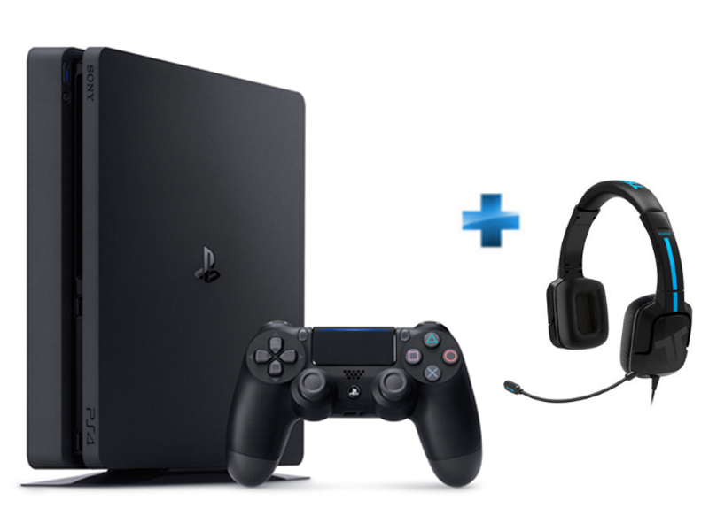 Pack Playstation 4 Slim 1TO + Casque Tritton Kama PS4