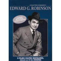 Bach Films - Hommage à Edward G. Robinson - La rue rouge + La maison rouge + Le criminel
