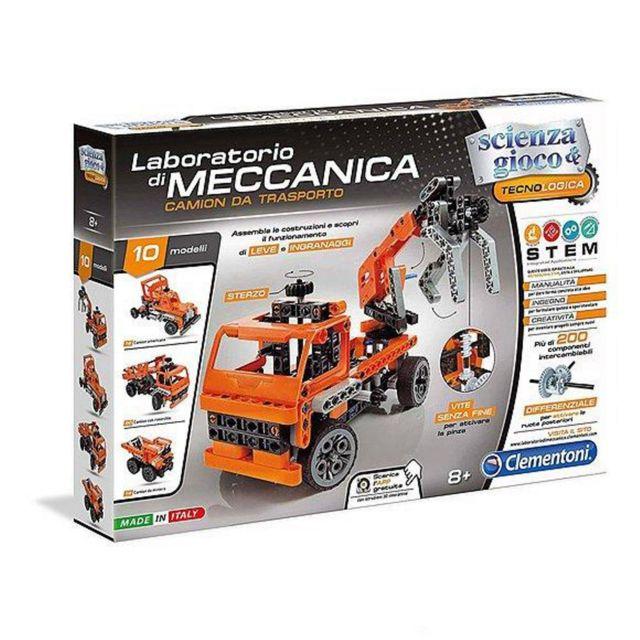 Clementoni Laboratoire meccanica-Camion de Transport