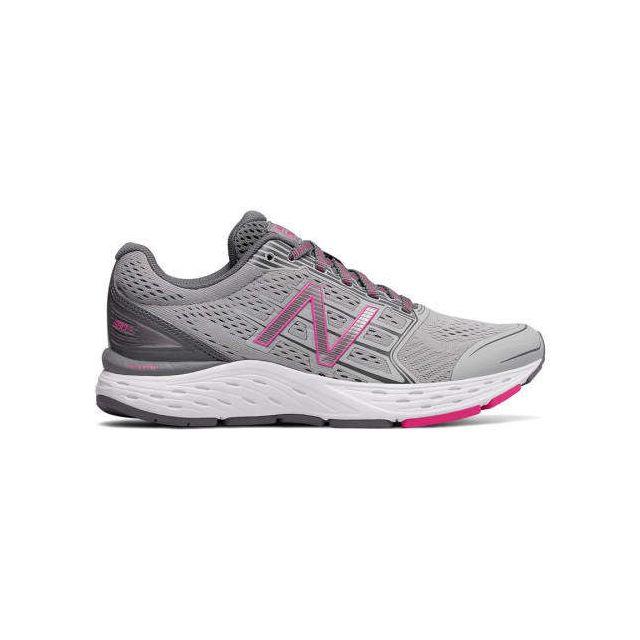 New Balance Chaussures 680 v4 rose femme pas cher Achat