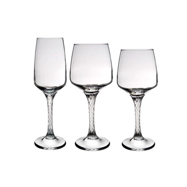 NOVASTYL Carcassonne - Service de 18 verres à pied - 8013928