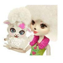 Mini-poupées Enchantimals : Lorna Brebis et son ami Flag