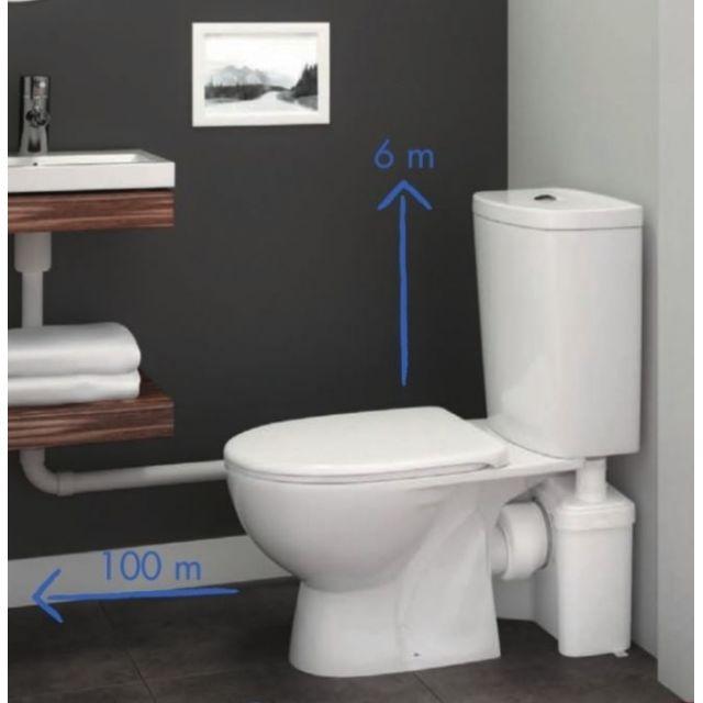 watermatic broyeur 2 entr es w12p pas cher achat vente broyeur wc rueducommerce. Black Bedroom Furniture Sets. Home Design Ideas