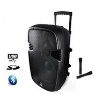 Ibiza Sound - Ibiza - Sono Portable Hybrid12VHF-BT autonome 500W - 2MIC Vhf