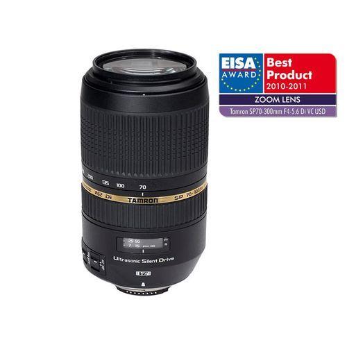 TAMRON Zoom Téléobjectif SP AF 70-300mm F/4-5.6 Di VC USD Monture Canon