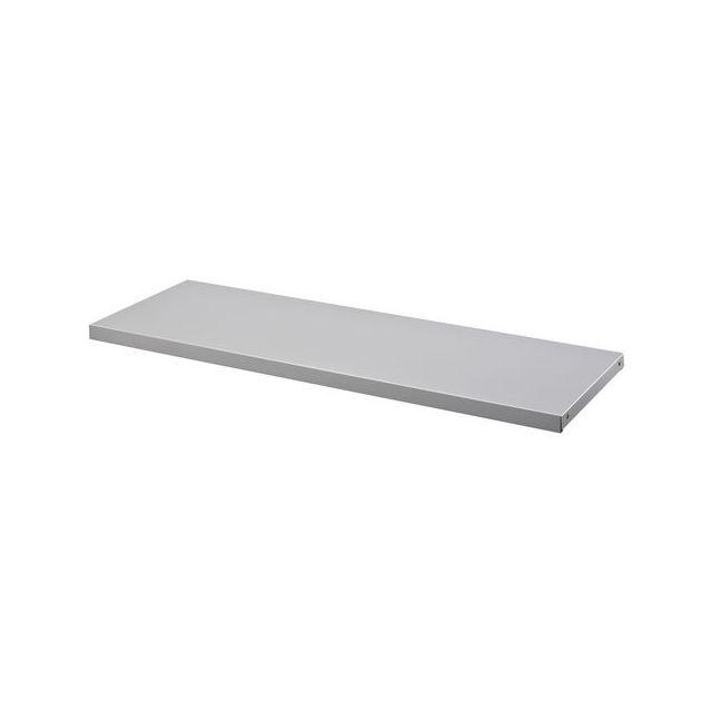 Duwic - Jeu de 2 tablettes 120 cm gris pour rayonnage de bureau