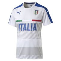 Puma - Replica Italia Figc Training Blanc Maillot Nation Homme Football