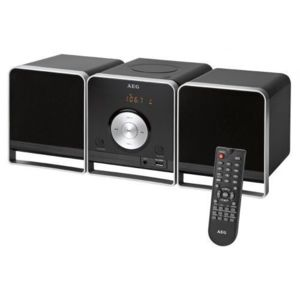 aeg chaine hifi bluetooth mc 4459bt pas cher achat. Black Bedroom Furniture Sets. Home Design Ideas
